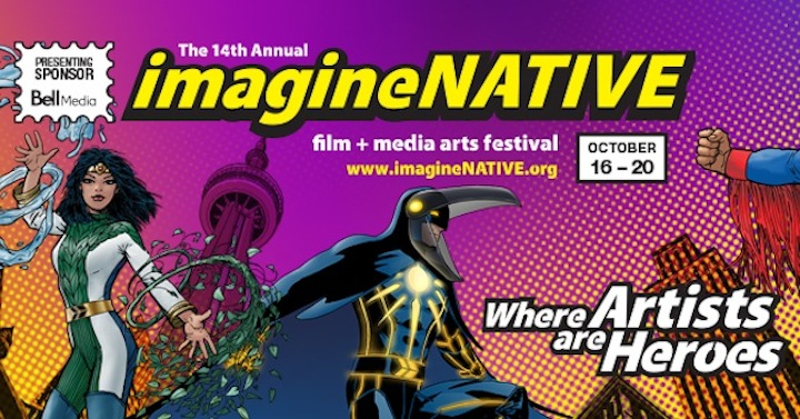 imagineNATIVE Banner